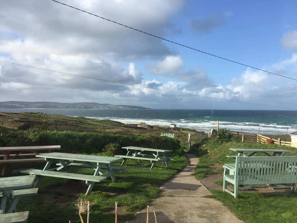 Eat Al Fresco, Gwithian cornwall